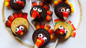 how to make thanksgiving oreo turkey pops treat craft