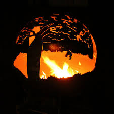 Sphere Fire Pit by Boab U2013 Fire Pits And Garden Features