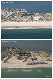 pre and post storm photo comparisons for new jersey hurricane
