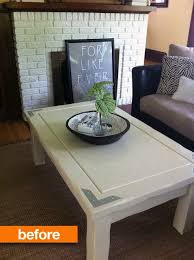 Coffee Table Or Ottoman - before u0026amp after coffee table turned tufted ottoman apartment