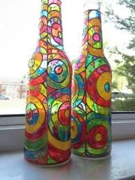 How To Paint A Glass Vase With Acrylic Paint Best 25 Glass Paint Ideas On Pinterest Painting On Wine Glasses