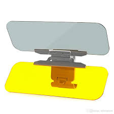 car auto 2 in 1 day night anti glare sun visor windshield