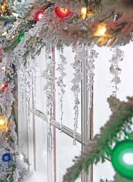 Christmas Window Decorations With Ornaments by 13 Best Holiday Window U0026 Door Decorations Images On Pinterest