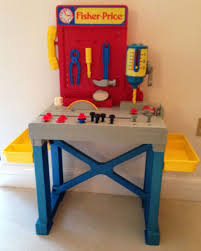 Toddler Tool Benches - this old toy u0027s fisher price construction site tools workbench