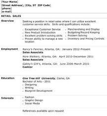resume objective for retail sales associate inside sales resume