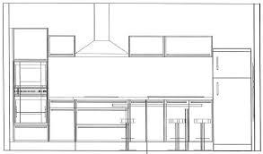 hauteur meubles haut cuisine cuisine hauteur plan de collection avec beau hauteur meuble haut