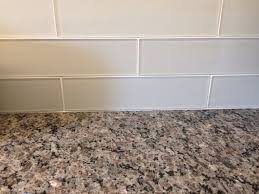 kitchen backsplash glass tiles this glass tile backsplash could paint watercolor style on
