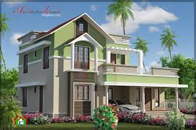 House Elevations 4 Bhk Contemporary House Elevation Architecture Kerala