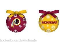 washington redskins ornament led color changing z157