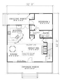 main floor plan cottage cabin pinterest tiny houses house