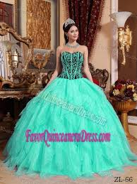 dresses for sweet 15 green gown organza sweet 15 dresses with embroidery and beadings