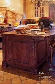 furniture style kitchen island custom made wood kitchen islands taber companytaber company