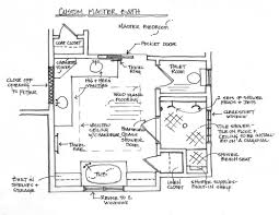 interior master bathroom floor plans rainfall shower head combo