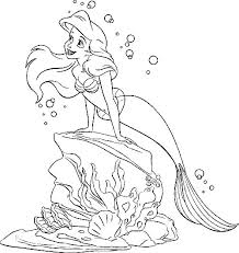 little mermaid coloring photo gallery in website coloring book