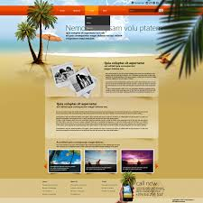 travel web images Web page layout of website jpg