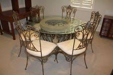 Round Glass Top Dining Table Set Round Glass Dining Table Ebay