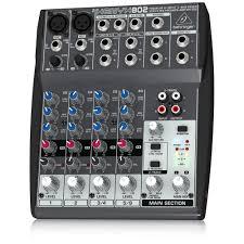 Diy Mixing Desk by Behringer 802 8 Input 2 Bus Mixer Amazon Co Uk Musical Instruments