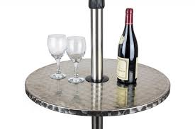 floating table andrew electric patio heater with 3 heat levels and floating