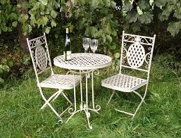 Shabby Chic Patio Furniture by Shabby Chic Garden Furniture Set In Cream This Set Comes Complete