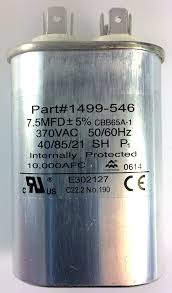 amazon com fan capacitor for coleman air conditioners 1499 5461