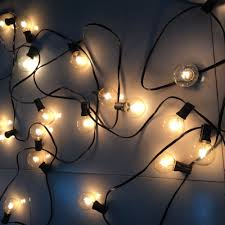 String Outdoor Patio Lights by Aliexpress Com Buy Patio Lights G40 Globe Party Christmas String