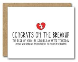congrats on your divorce card divorce humor etsy