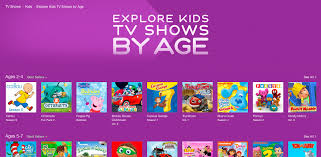 itunes canada explore kids tv shows by age u2013 razmag com