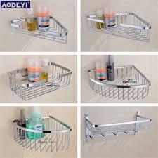 Corner Shelves Bathroom Wall Mounted Stainless Steel Bathroom Shelf Bracket Shelves Basket