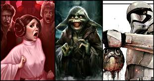 what to get a star wars fan 15 creepy re imagined star wars fan art that will not let you sleep