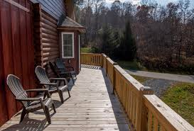 Wrap Around Deck Kapena Escape New Rental Ashe High Country Vacations