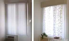 introduction vertical blinds to hang curtains