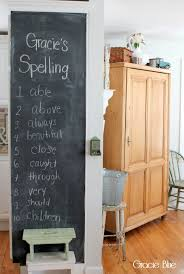 dining room chalkboard gracie blue chalkboard decor diy framed chalkboard