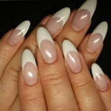 acrylic stiletto nails stiletto nails are long pointed nails