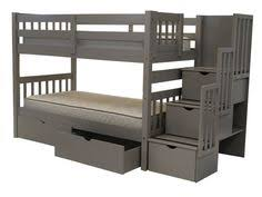 Plans For Bunk Beds With Drawers by Bunk Bed With Stairs Plans Bunk Bed Pinterest Stair Plan