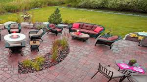 amazing concrete u0026 bricks patio design ideas stamped concrete