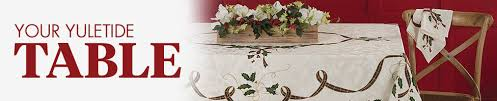 bed bath and beyond christmas table linens christmas table linens 70 x 144 bed bath beyond
