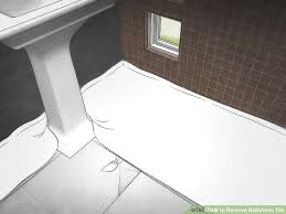 how to remove bathroom tile 11 steps with pictures wikihow
