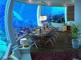 chambre aquarium visite guidée dans la chambre d hôtel la plus incroyable de