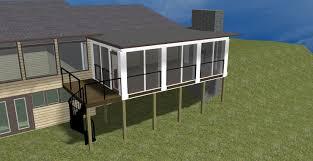 three season porch plans design series columbus decks porch patio great 3 season porch