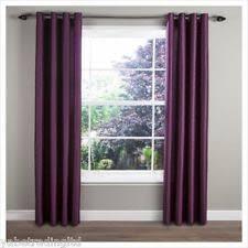 Plum Faux Silk Curtains Tesco Faux Silk Curtains Blinds Ebay