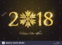 vector 2018 happy new year and merry christmas greeting card with