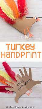 turkey handprint craft with poem the best ideas for