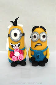 edible minions minion edible wedding cake toppers kasy cake toppers
