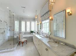 Bathroom Elegant Master Bathroom AIRMAXTN - Elegant white cabinet bathroom ideas house