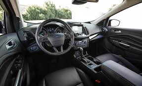 ford range rover interior 2017 ford escape in depth model review car and driver