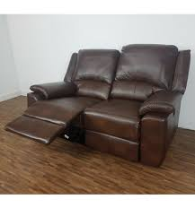 leather sofa outlet stores chelsea leather air 2 seater electric recliner sofa brown