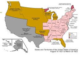 Missouri Compromise Map Activity Unit 7 Chapter 10 Growth And Expansion Ppt Download