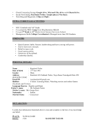 Extracurricular Activities Resume Examples by Marvelous How To Add Extra Curricular Activities In Resume 18 In