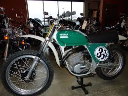 vintage siege oldmotodude penton six day 125 on display at the 2015 siege