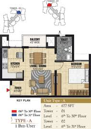1625 sq ft 3 bhk 3t apartment for sale in prestige group valley